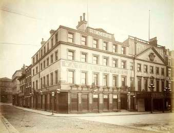 Waterloo Hotel, Liverpool, England (Then)