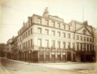 Waterloo Hotel, Liverpool, England (Then)